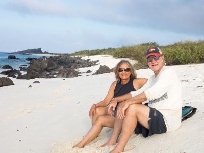 Karen and Dean Gardner Bay