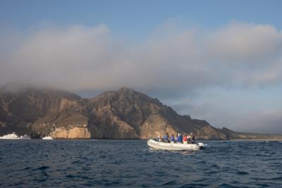 exploring Punta Pitt
